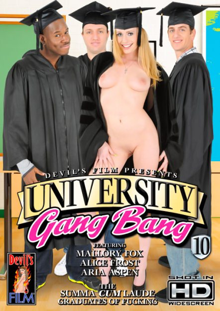 University Gangbang #10 Dvd Cover