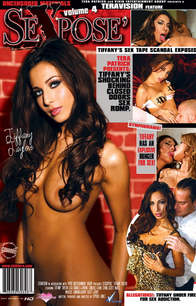 Sexxxpose Tiffany Taylor Dvd Cover