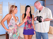 Mature and Young : Couples Seeking Teens - Ashli Orion & Mark Davis & Demi Delia!