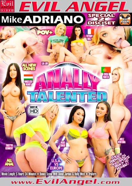 Anally Talented Dvd Cover