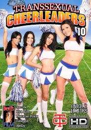 Transsexual Cheerleaders #10 DVD Cover