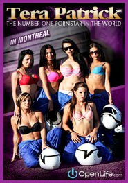 Tera Patrick In Montreal DVD Cover