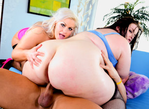 Evil BBW Gold #03 - Oiled, Scene #05