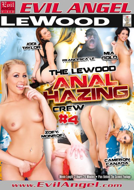 The Le Wood Anal Hazing Crew #04 Dvd Cover