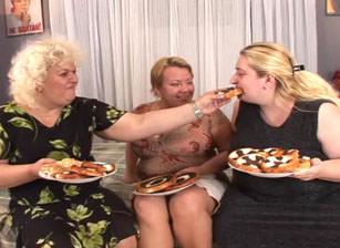 Big Fat Hairy Lesbian Orgy, Scene #01