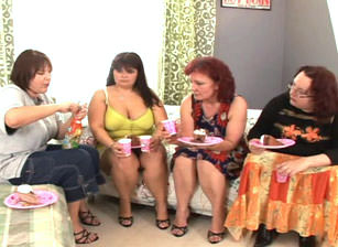 Big Fat Hairy Lesbian Orgy, Scene #02
