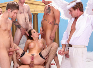 The Devils GangBang, Scene #01
