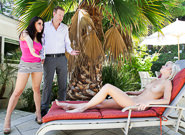 Mature and Young : Couples Seeking Teens #13 - Mark Wood & Aleska Nicole & Chloe Foster!
