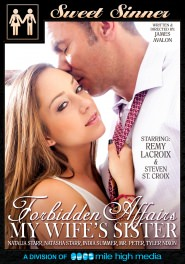 Forbidden Affairs - My Wife's Sister DVD Cover