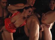 Asses : Voracious 2 ep4 - Burn The fuck Vampire - Sandra Romain & Clark Kent & Lea Lexis & Mugur!