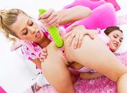 Anal Fucking : Lil Gaping Lesbians #06 - Gabriella Paltrova & Zoey Monroe!