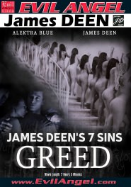 James Deen's 7 Sins - GREED DVD Cover