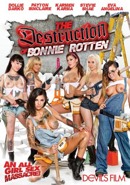 The Destruction Of Bonnie Rotten Dvd Cover