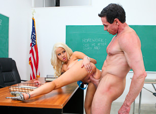 Peter North Is The Nasty Teacher, Scene #07