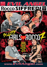 Slutty Girls Love Rocco #07 DVD Cover