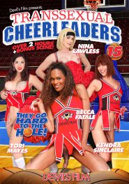 Transsexual Cheerleaders #15 DVD