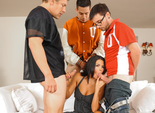 College Group Sex, Scène 2