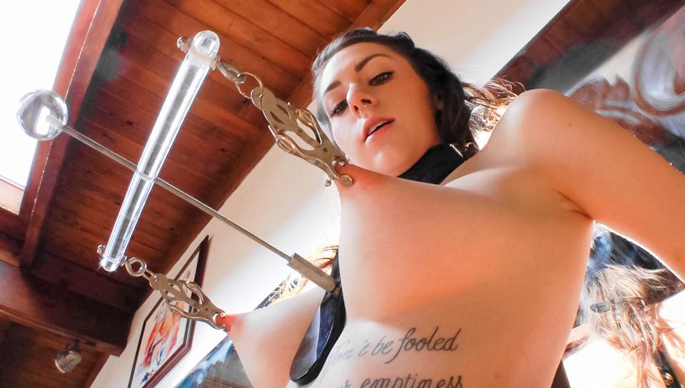 Sexy naked women fishing