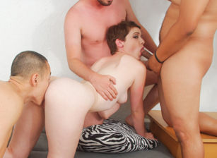 My Hairy Gang Bang #8, Scene #01