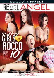 Slutty Girls Love Rocco #10 DVD Cover