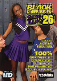 Black Cheerleader Gang Bang #26 DVD