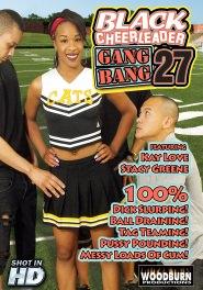 Black Cheerleader Gang Bang #27 DVD