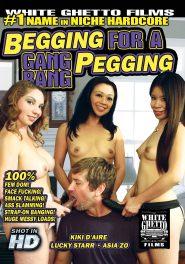 Begging For A Gang Bang Pegging DVD