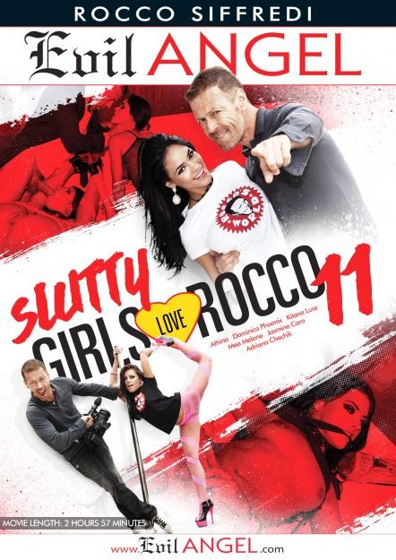 Slutty Girls Love Rocco #11 Dvd Cover