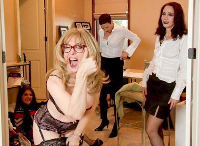 BTS-Seduction of Nina Hartley