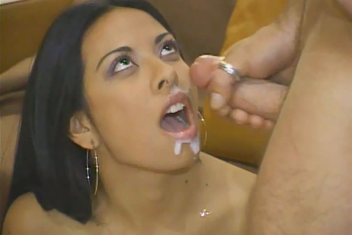 Skinny latina gets not so skinny cock up her cunt