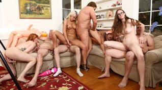 Storage Whore Orgy, Scene #01