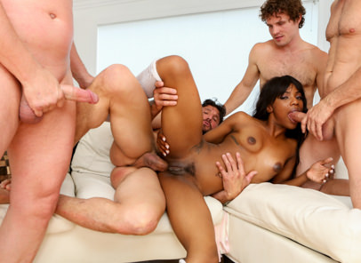 White out 03 evan stone tommy gunn filthy rich skyler nicole. Sarah takes on four voluminous white cocks filling all her holes