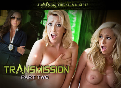 Girlsway – Transmission: Part Two – Abigail Mac, Samantha Rone, Hillary Scott