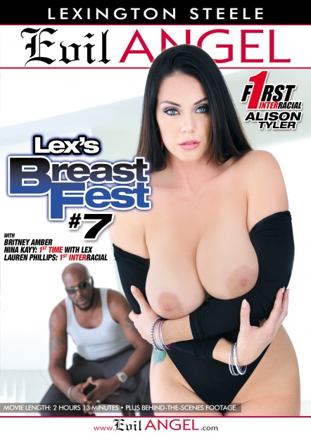 Alison Tyler, Brittney Amber, Lauren Phillips, Nina Kayy - Evil Angel - Lex's Breast Fest 7