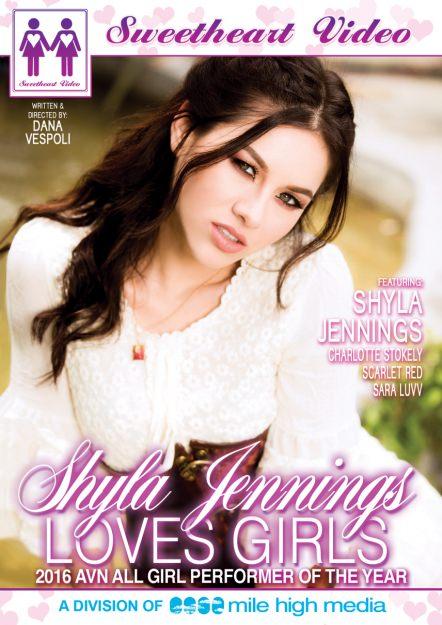 Shyla Jennings Loves Girls DVD Cover