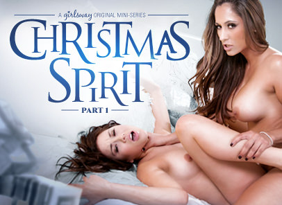GirlsWay – Christmas Spirit Part One – Shyla Jennings & Reena Sky