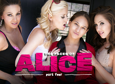 GirlsWay – The Faces Of Alice Part Four – Sara Luvv, Serena Blair, Abigail Mac, Charlotte Stokely, Jenna Sativa