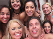 Btsmick blue s best day ever 02 mick blue anikka albrite aj applegate morgan lee gia paige amara romani holly hendrix. The girls are still having fun licking and kissing eachother