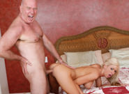 Dirty old men 07 kaylee hilton. Graceful curvy Blond Teen Kaylee Hilton gets have sex by Old Man