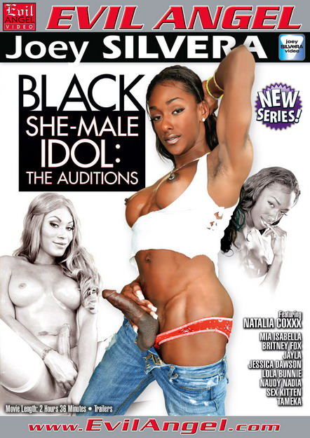 Black Shemale Idol - The Auditions Dvd Cover