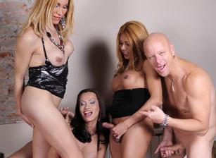 Transsexual Gang Bangers #16 , Scene #01