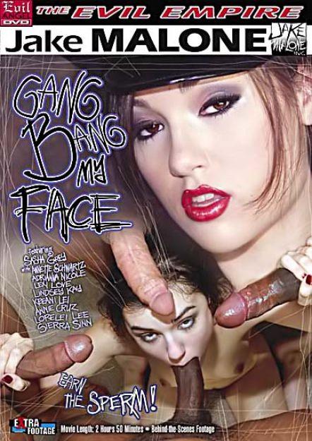 Gang Bang My Face #01 Dvd Cover