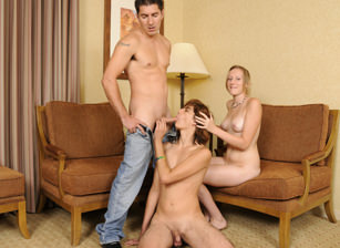 Husbands Teaching Wives How To Suck Cock #02, Scene #2