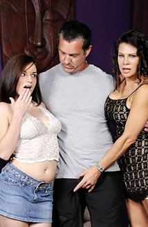 Mothers Teaching Daughters How To Suck Cock #03 Picture