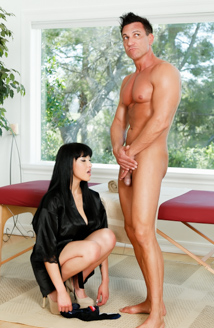 Strip Mall Asian Massage Picture